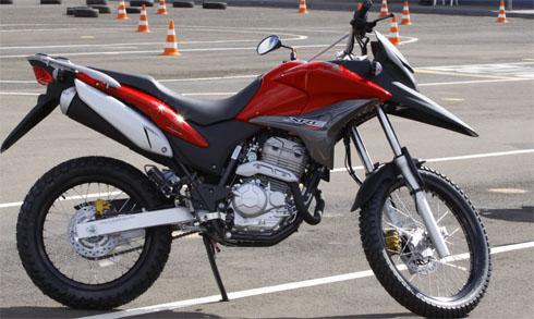 Motos Teste Honda Xre 300 2010 Motox