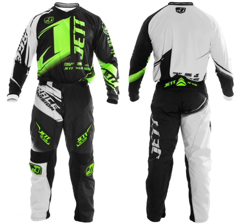 1eec4c527 Lançamento  calça e camisa Jett Factory Edition para motocross e ...